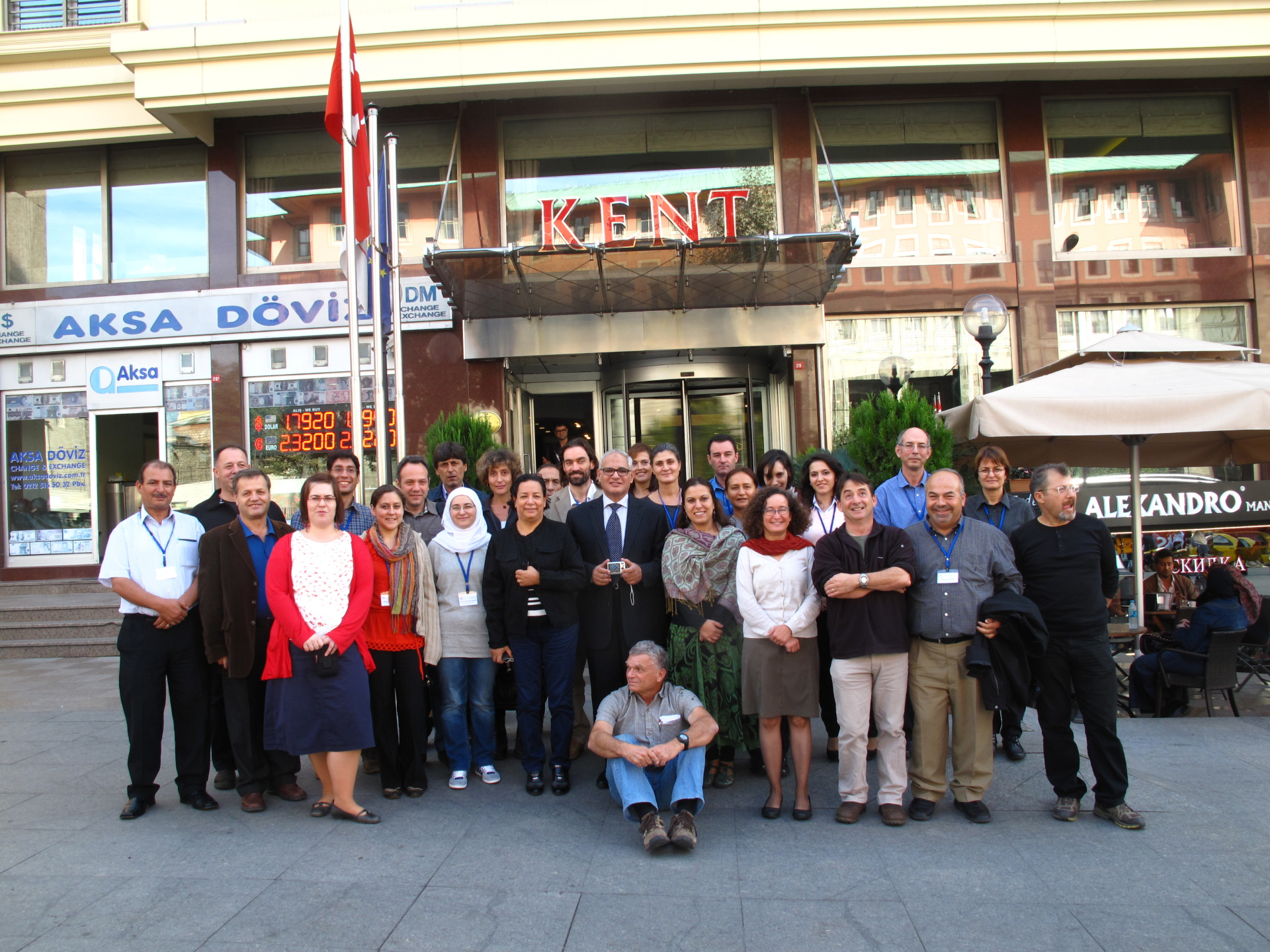Istanbul red list assessment workshop participants 2012